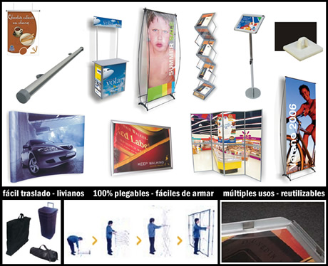 Insumos para Carteles, Gr�fica, Stands, Venta, Backlight, Afiches, Folleter�a