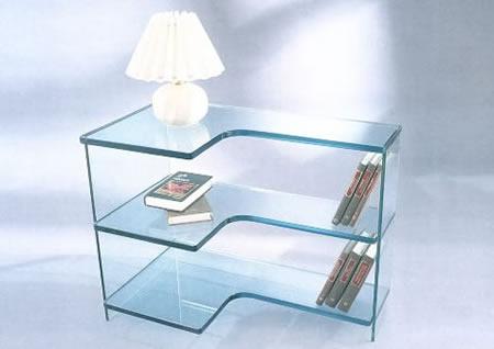 Muebles de hierro decoracion de interiores for Muebles de oficina vidrio